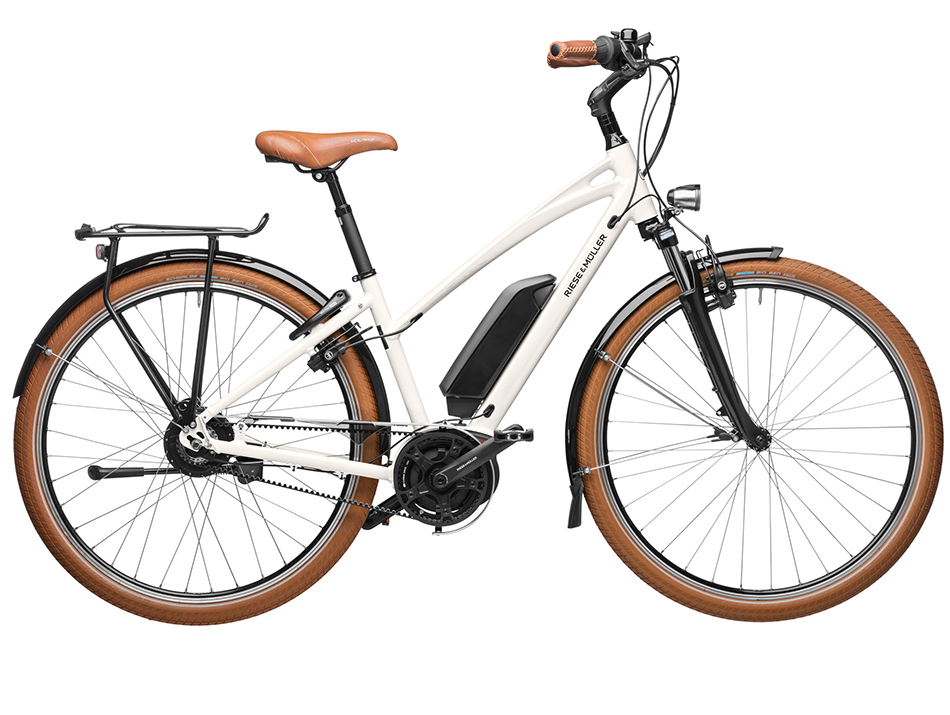 "2020 Riese & Muller Cruiser Mixte Vario Urban 28"" Cream"