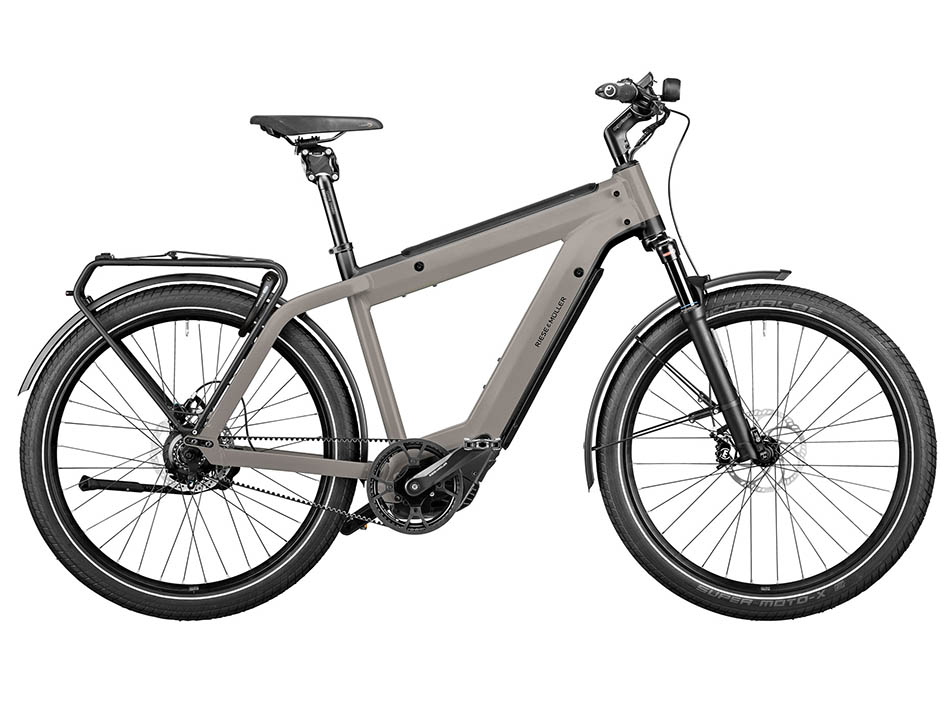 """2021 Riese & Muller Supercharger2 GT Rohloff 27.5"""" Grey"""