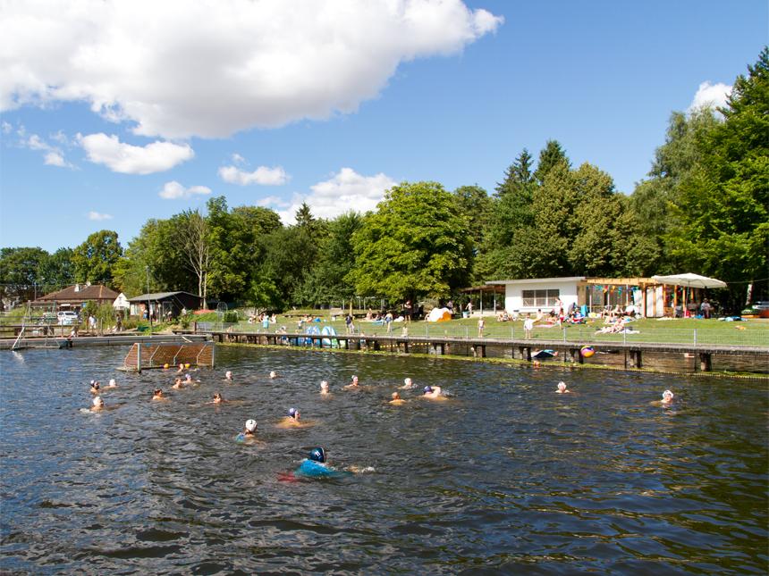 Sommer, Sonne, Badespaß – die Saison 2018 im Flussbad Rostock war einfach toll!