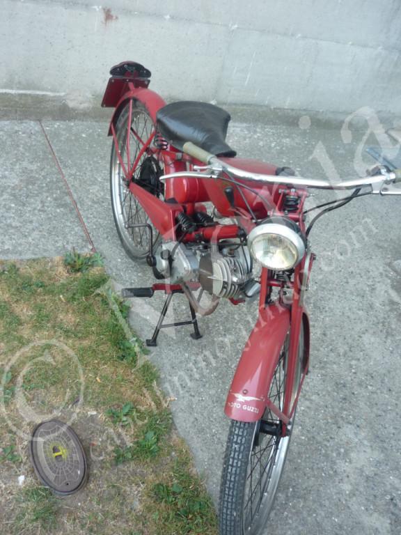 La Moto Guzzi 65 dell'anno 1953