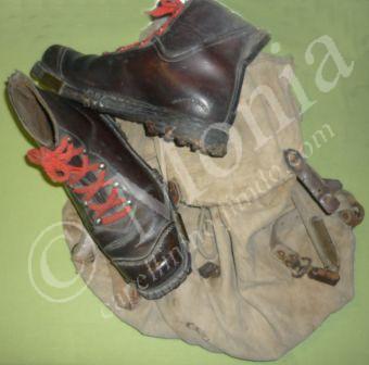 lo zaino e gli scarponi