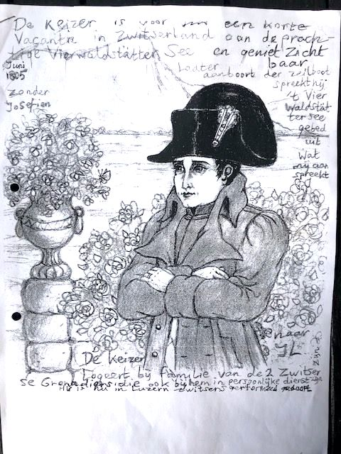 Kaiser Napoleon Bonaparte im Châlet Antique