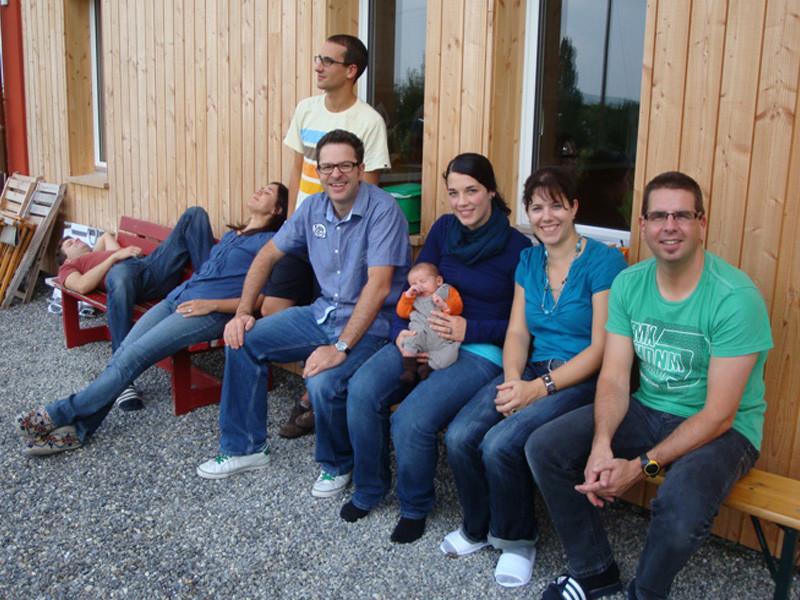 Das campus generation Team (die Arbeitskollegen von Daddy)