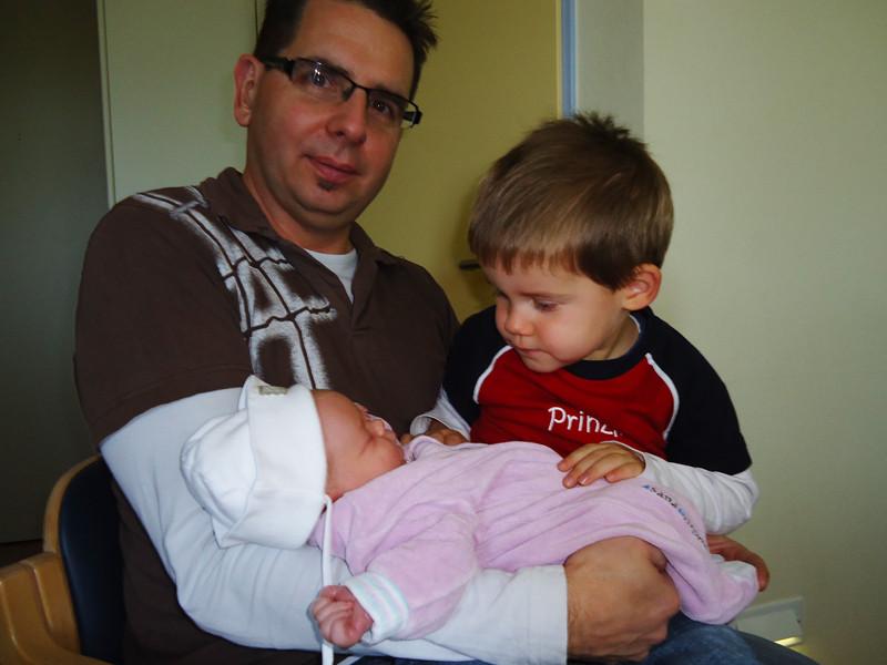 Zuerst natürlich mein Daddy und Jan