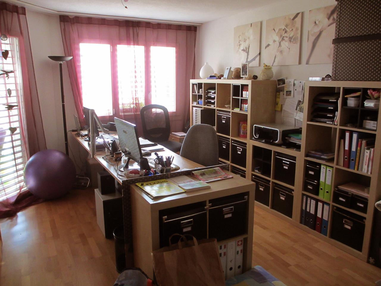 Büro von Mami und Daddy