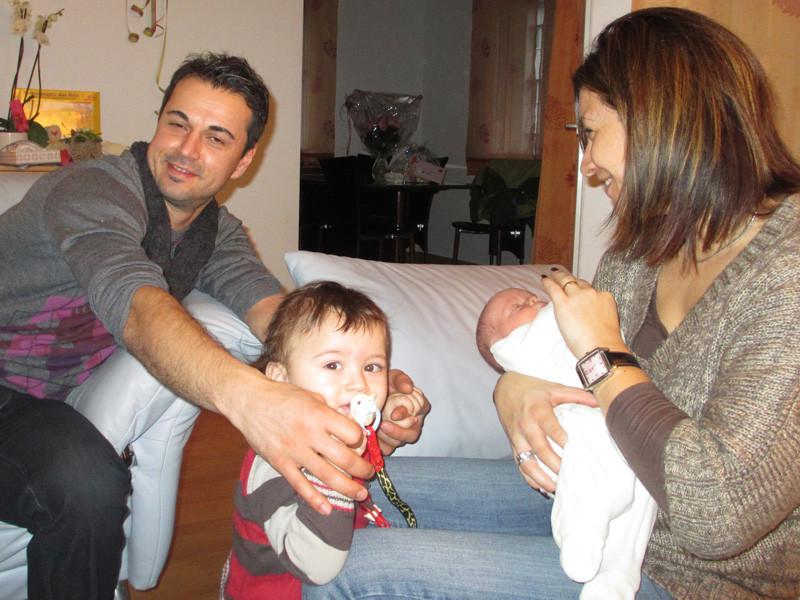 Nikolay, Ryan und Mary, befreundete Family vom Tunaupark