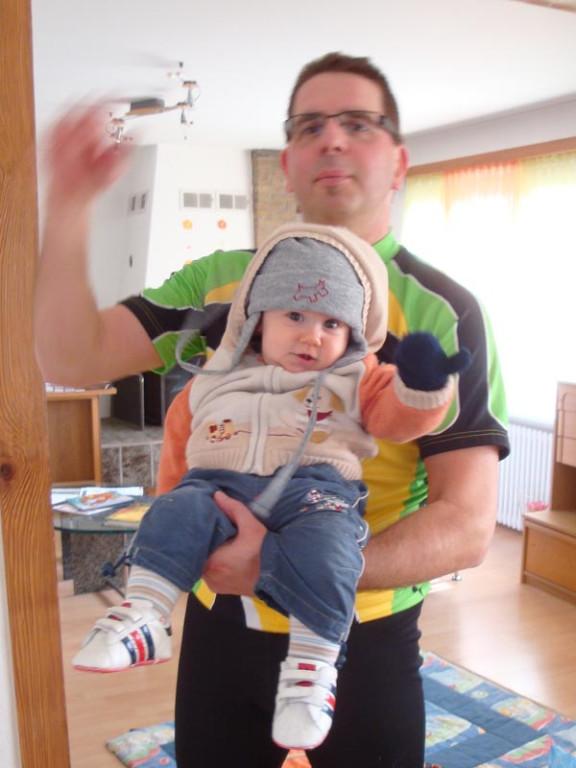 ... und die Biketouren mit Daddy und Mami
