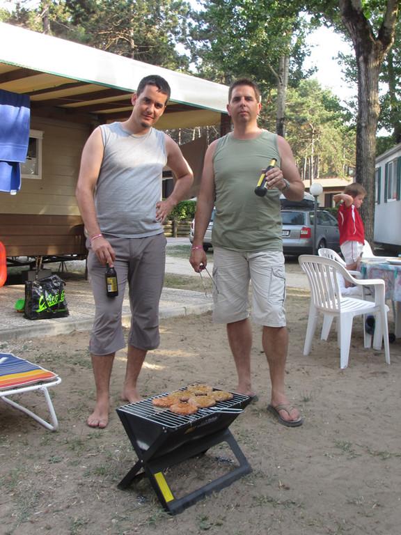 Hier die beiden Grill-Meister der Woche.