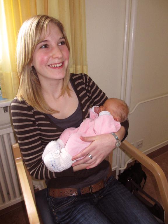Sandra - Jan's und vielleicht bald auch mein Babysitter