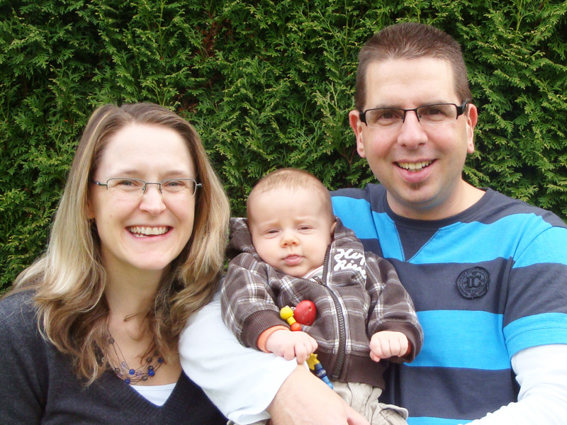 Unser neustes Familienfoto - mit Selbstauslöser gemacht