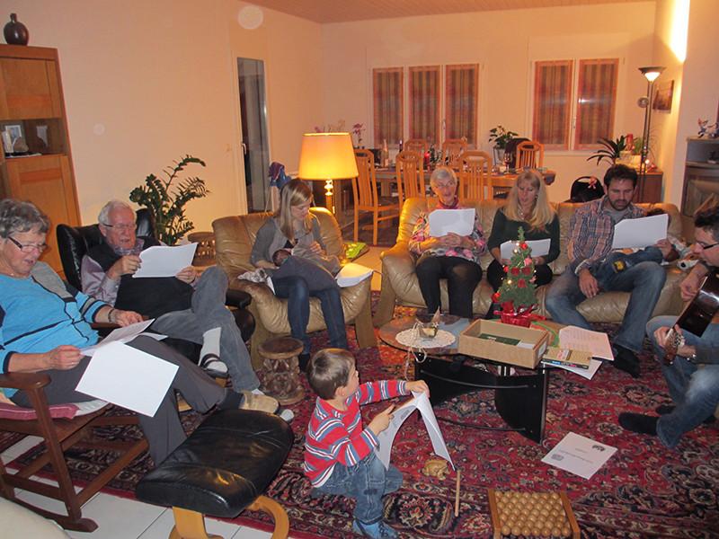 Weighnachten mit der Stähli-Familie