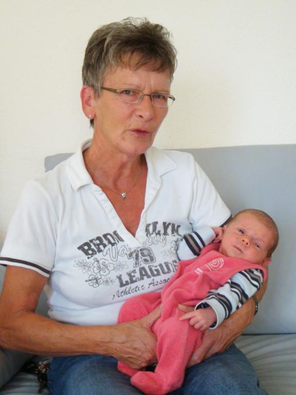 Sonja (und gleich noch eine Freundin von Mami :-)