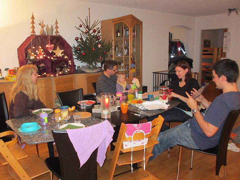 Lya, Fynn und Familie zu Besuch