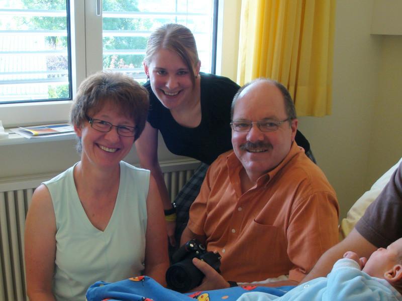 Dora, Prisca und Franz (Freunde meiner Eltern)