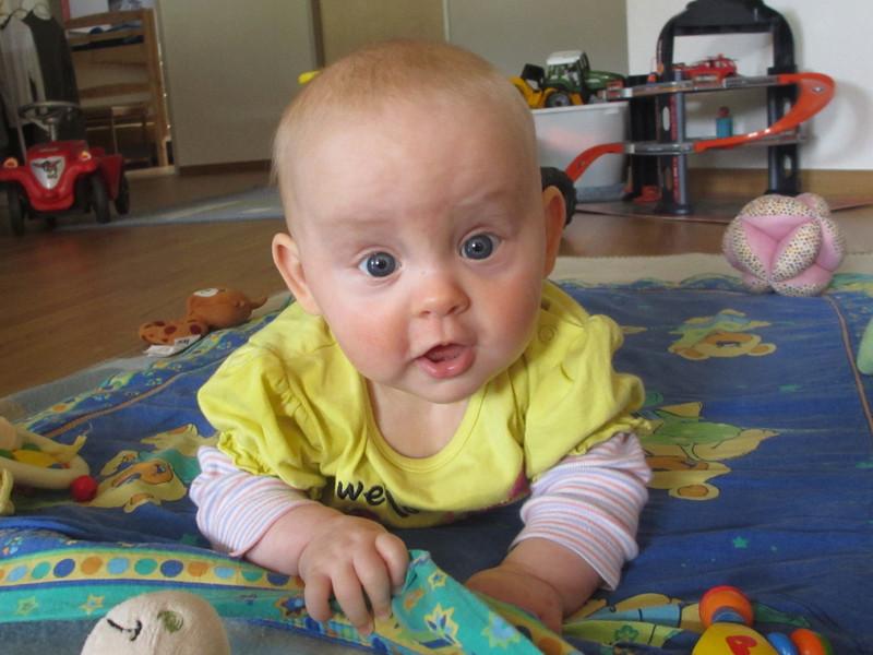 Da bin ich wieder, jetzt 5 Monate alt.