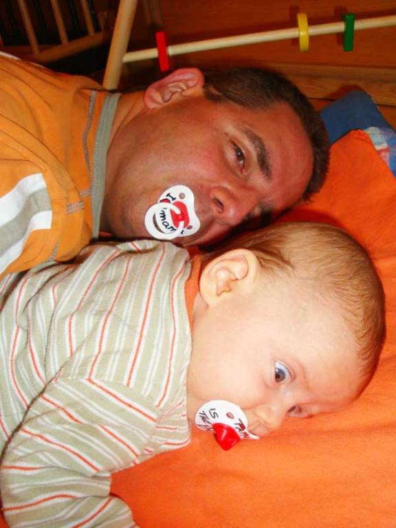 Daddy ist der Beste, weil er Mami liebt