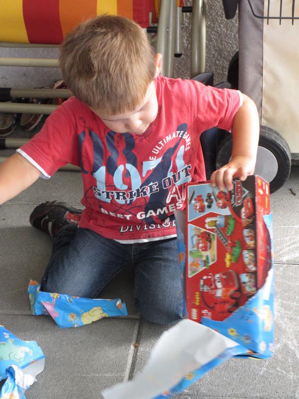 Einige Geschenke gibts zum Auspacken