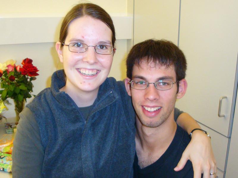 Nathalie und Mario (Freunde meiner Eltern, frisch verheiratet!)