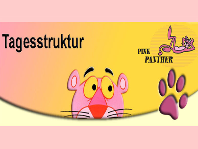 Dienstags sind Jan und ich im Pink Panther.