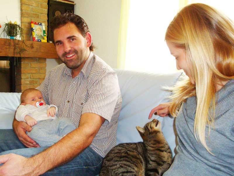 Götti und seine Frau Erika zu Besuch