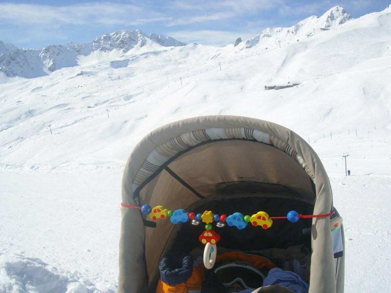 Auch ich war jeden Tag unterwegs im Skigebiet