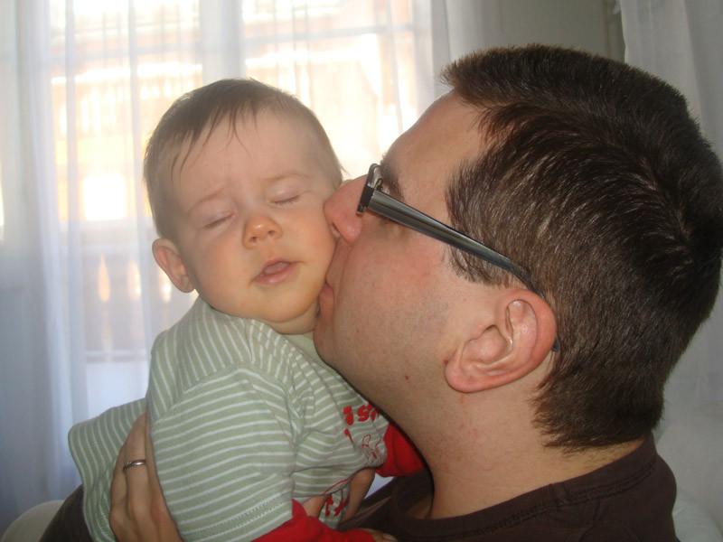 Schmusen mit Daddy