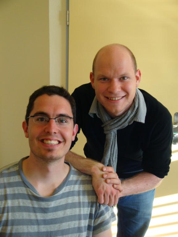 Andi und Joel (Freunde meiner Eltern)