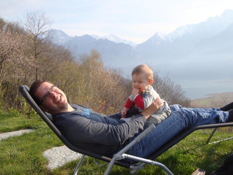 Zeit verbringen mit Daddy