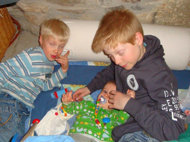 Spielen mit meinen Cousins