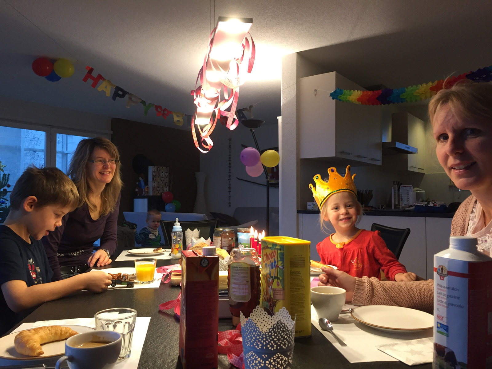 Lea\'s Geburtstage - the Stähli family