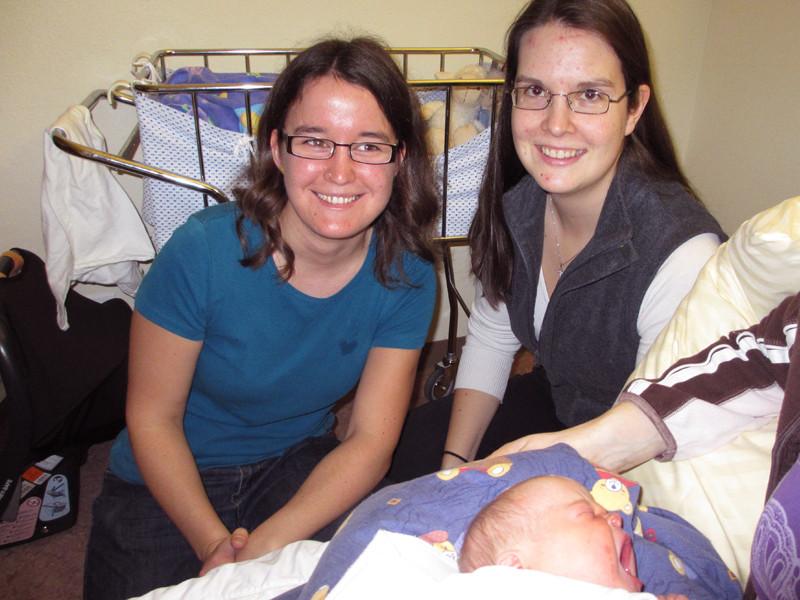 Susanna und Nathalie, Freundinnen von Mammi