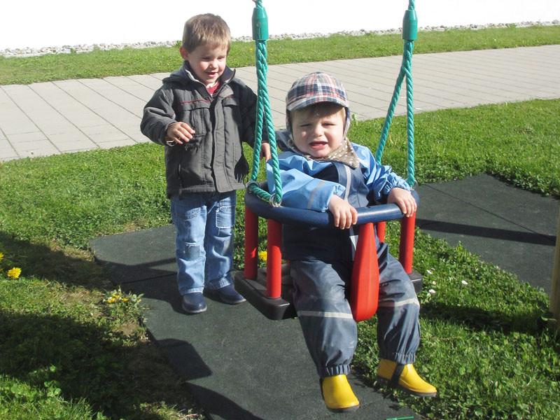 "Manchmal ist auch Micha im Tunaupark - bei ""Daddy-Grosi""."