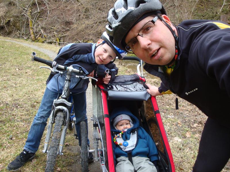 Die erste Biketour mit Cousin Yanick