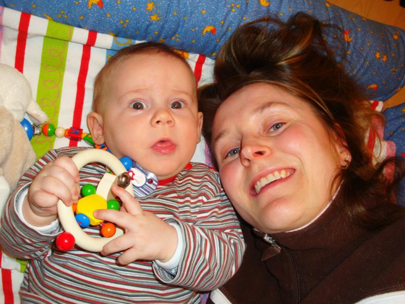 Spiel und Spass mit Mami