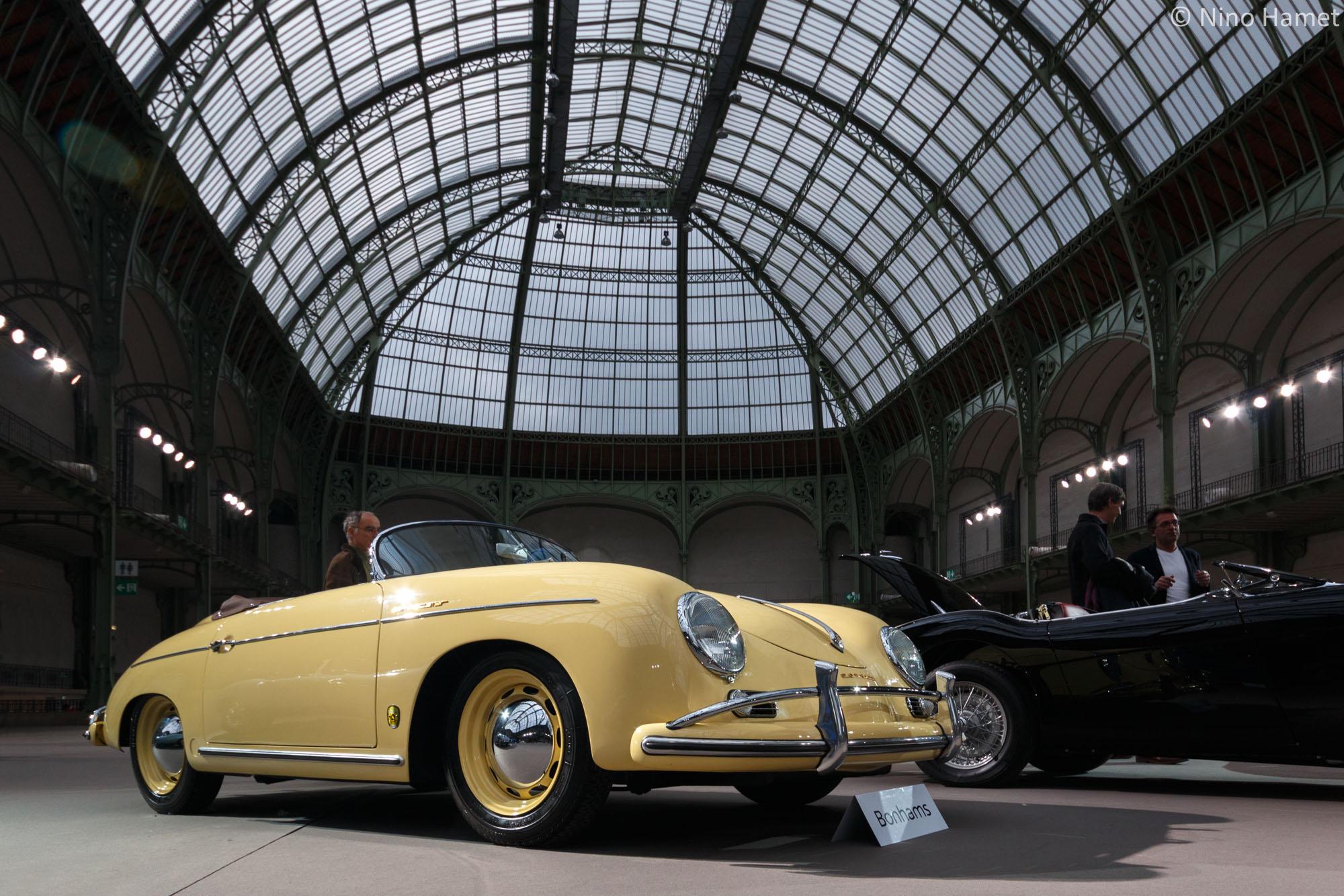 Porsche 356 Super Speedster Pre-A de 1955, une merveille cédée 320 000 euros par son propriétaire.