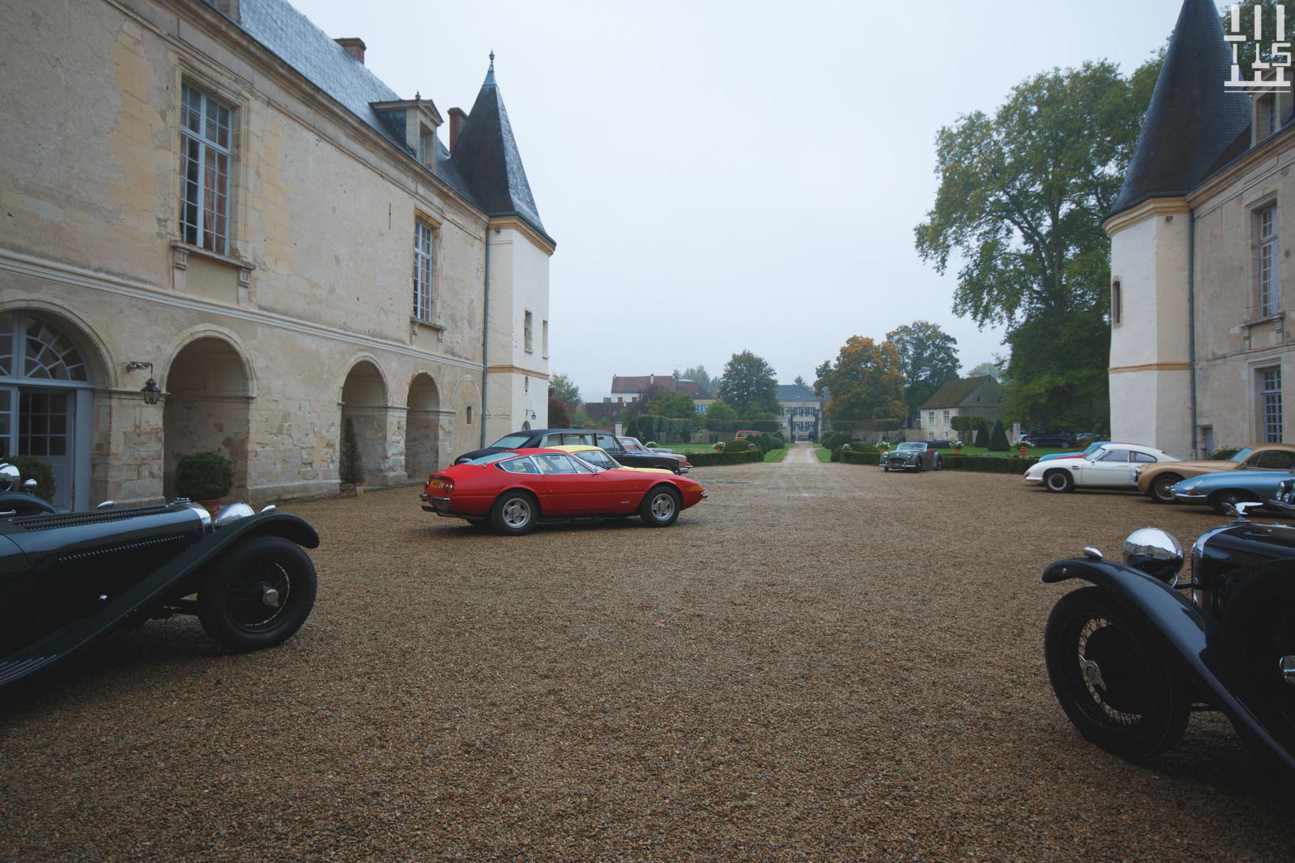 Ferrari 365 GTB/4 Daytona - Journées d'Automne 2015, Château de Condé.