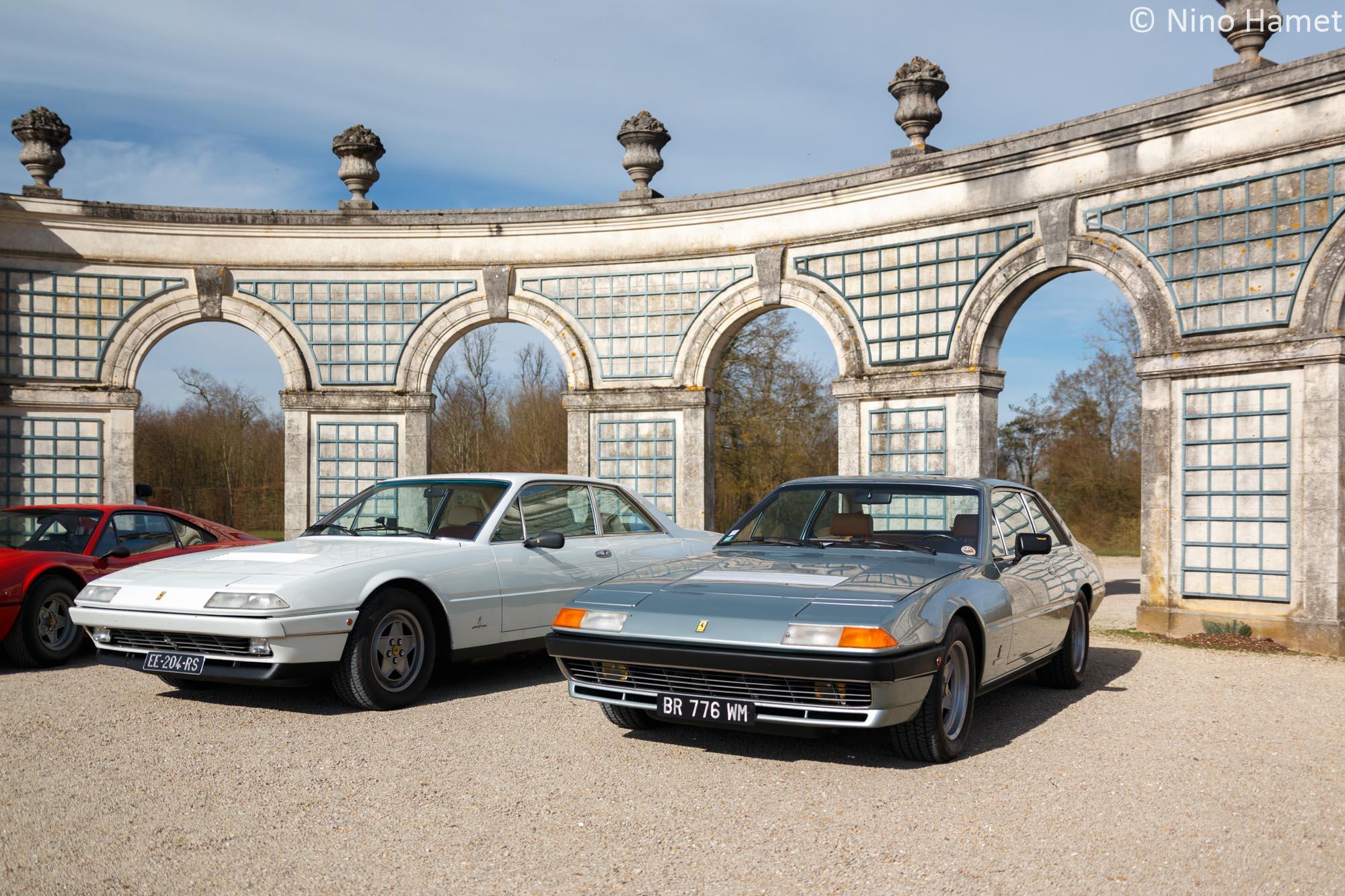 Ferrari 400i et 412i
