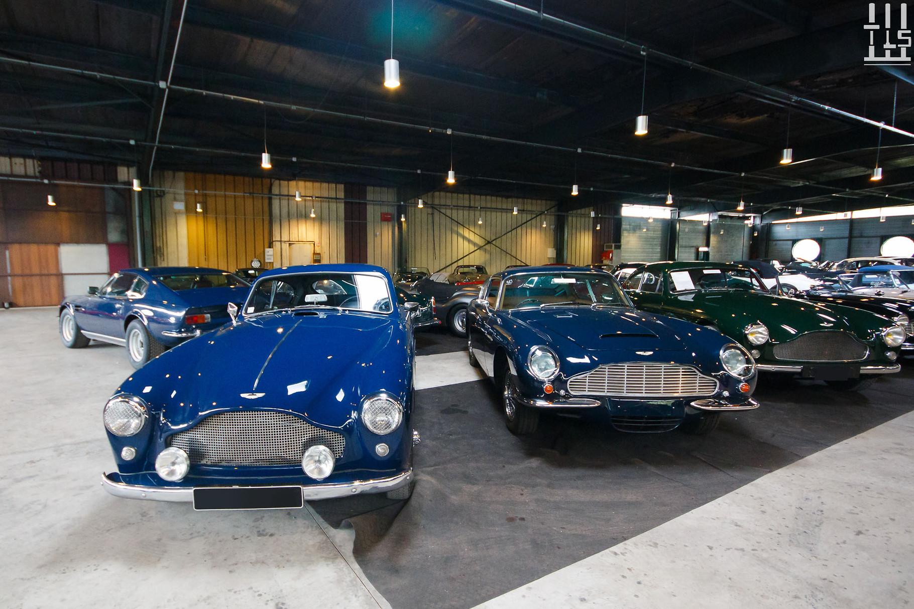 Aston Martin DB2, Aston Martin DB6, Aston Martin DB2