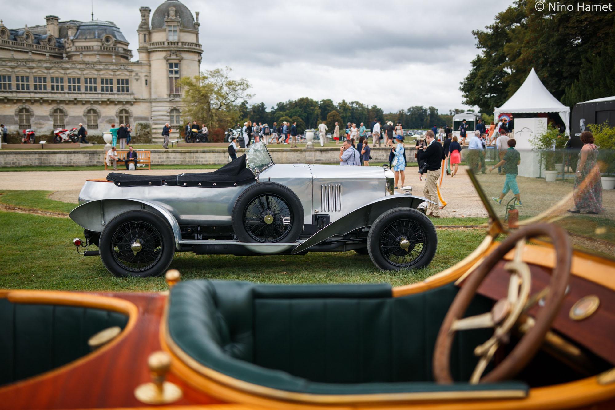 Les carrosseries atypiques (Bois, tissu, osier…), premier prix : Vauxhall 30/98 Wensum 1925