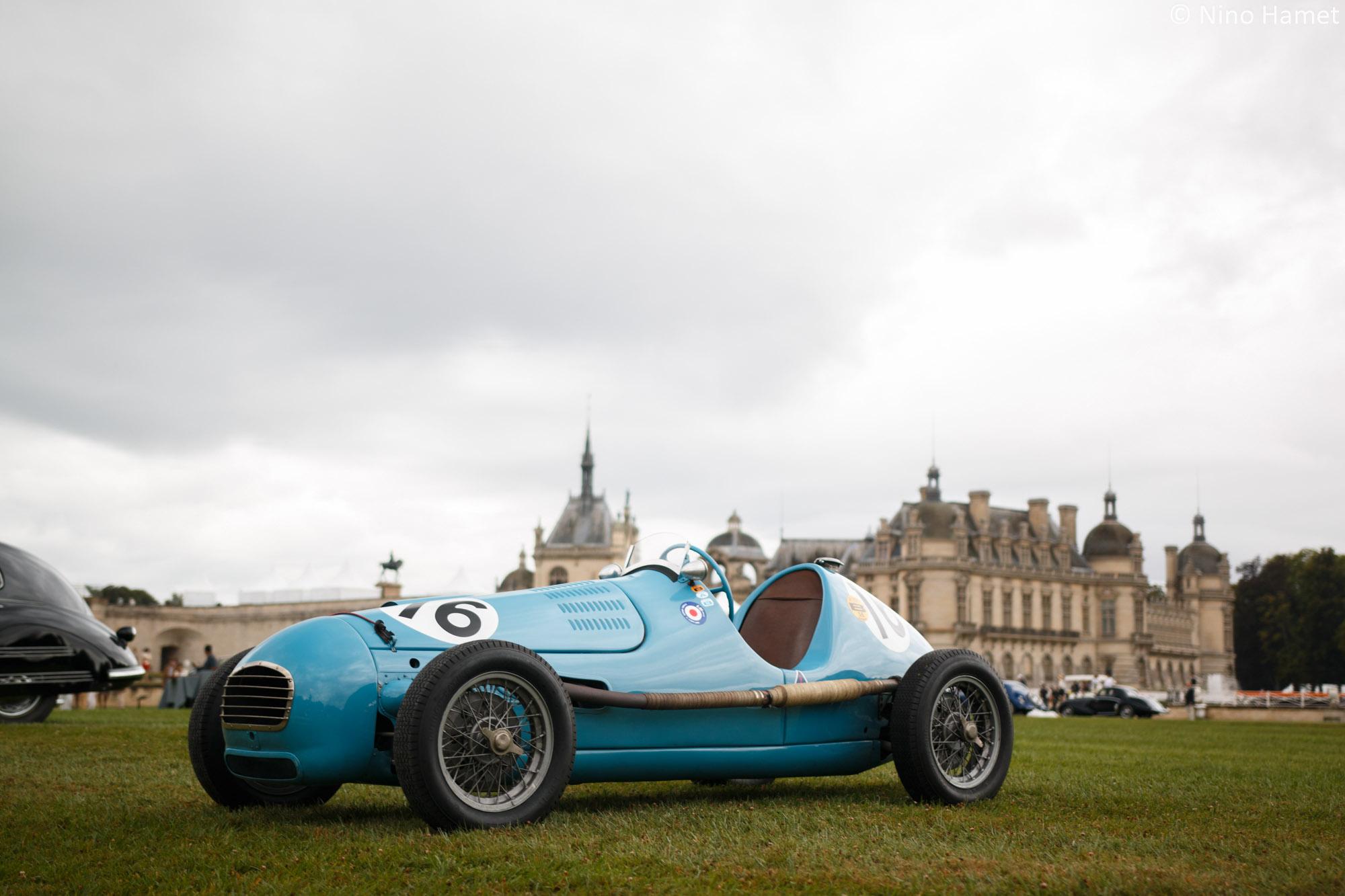 Les Formule 1 à moteur avant, premier prix : Gordini Type 11 1946