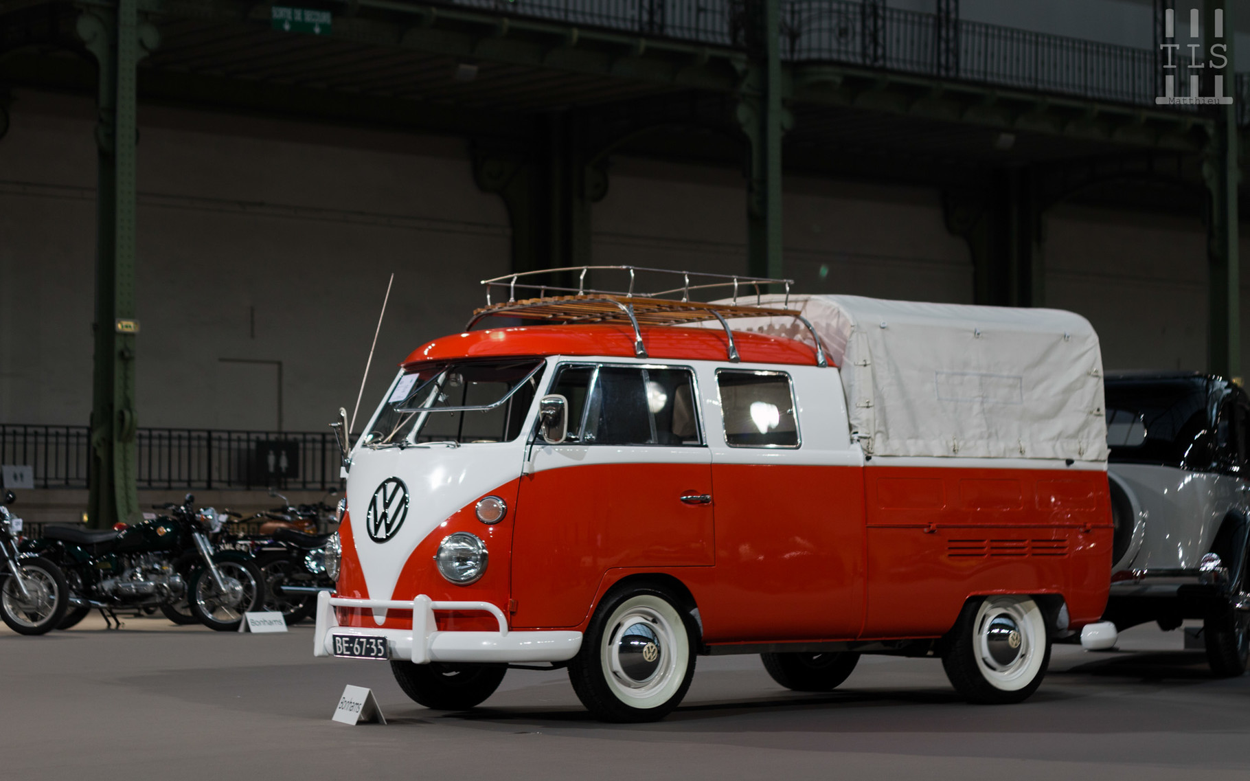 Volkswagen Type 2 T1 Pickup, vendue à 58 650 euros.