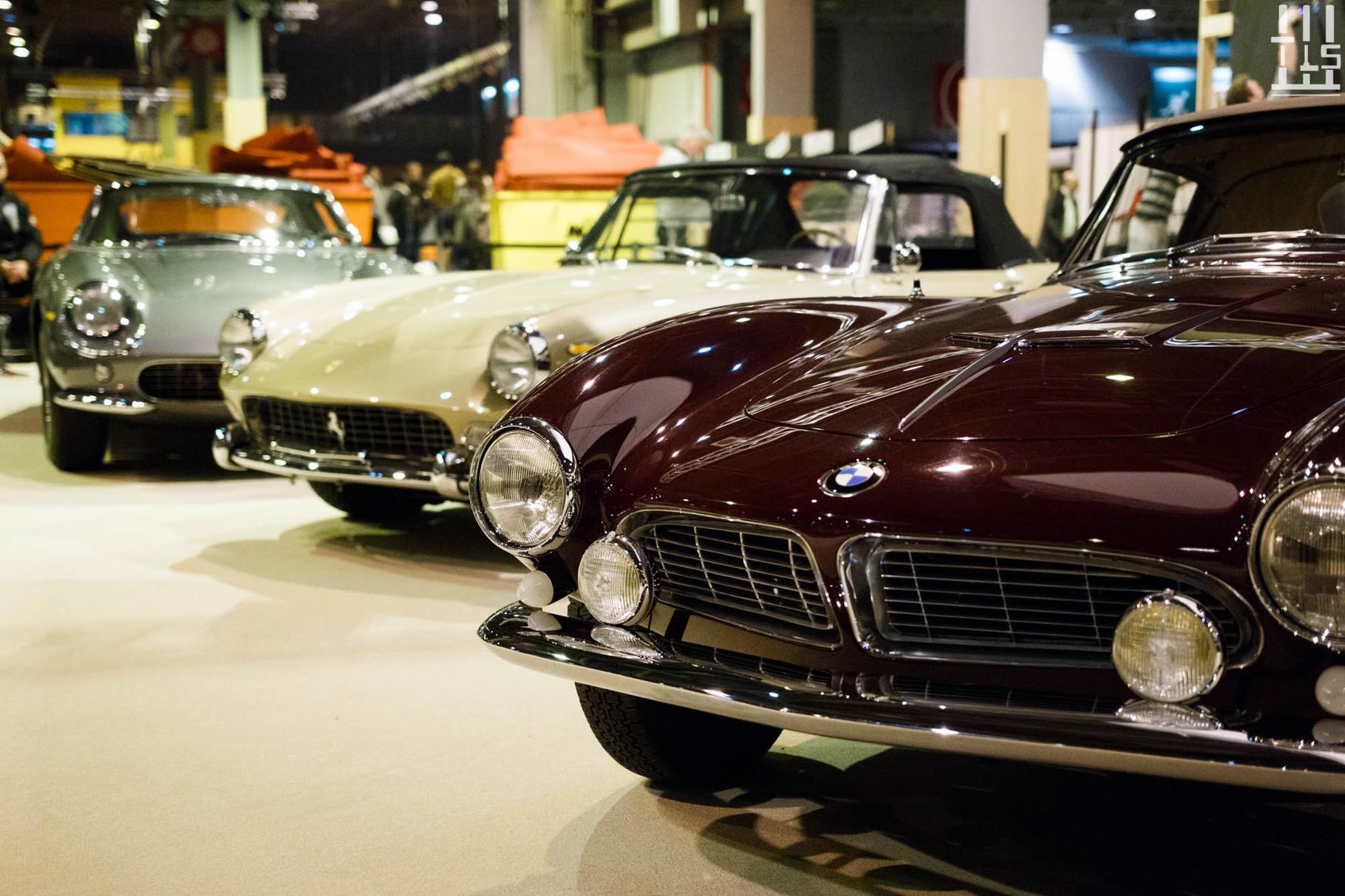 La Ferrari 275 GTS qui l'accompagne également.