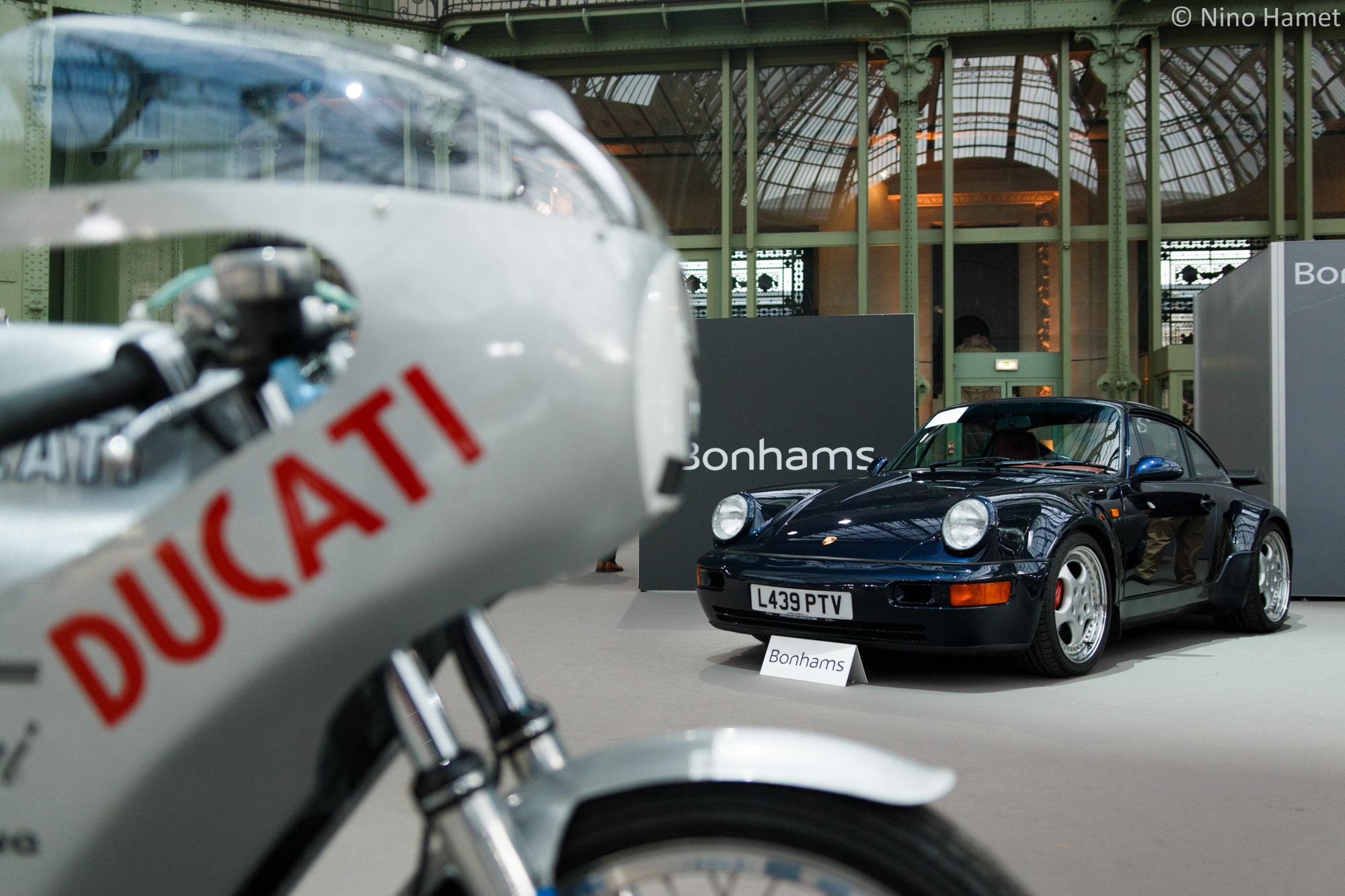 La vacation Bonhams mélange autos et motos avec brio !