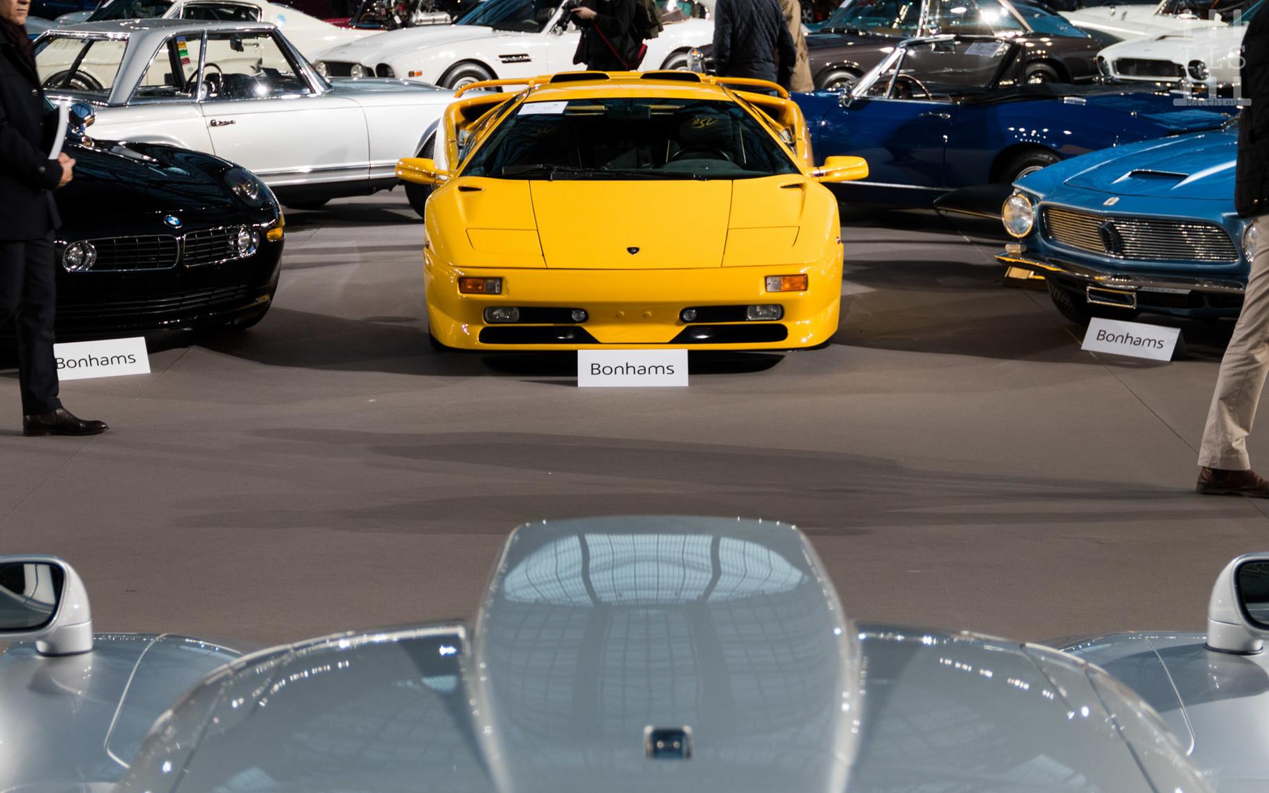 Lamborghini Diablo SV, invendue.