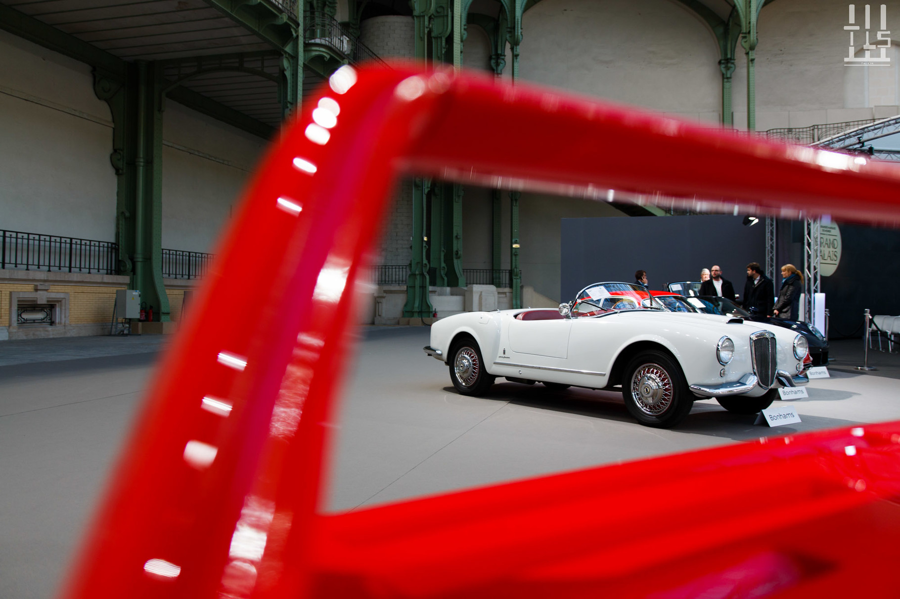 Lancia Aurelia B24 Spider, invendue.