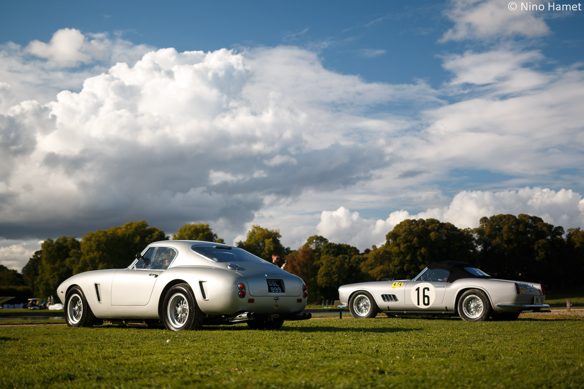 Ferrari 250 GT SWB #2129GT – 1960 & Ferrari 250 GT California Spyder #1451GT – 1959