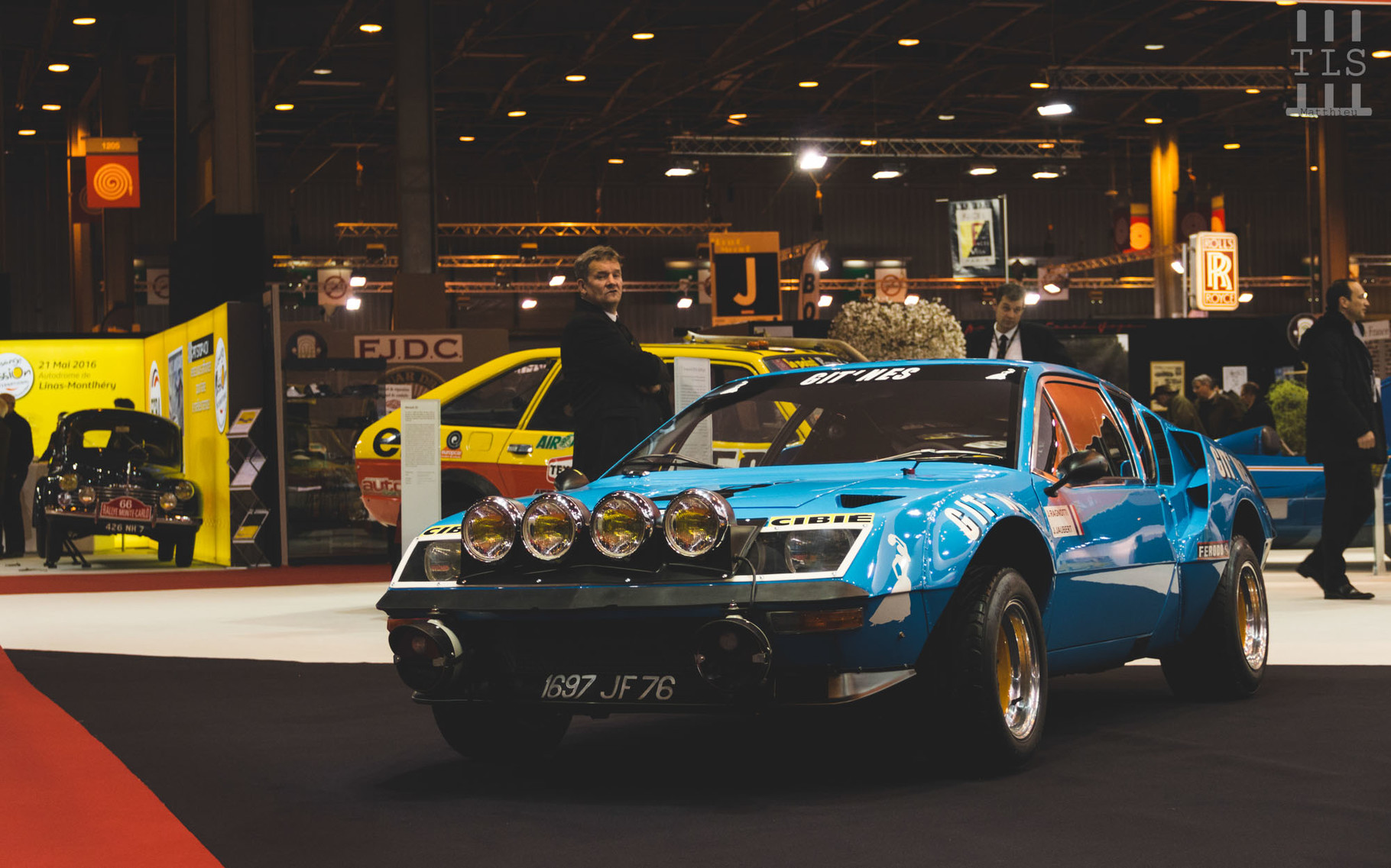 Alpine A310 Groupe IV, Rétromobile 2016, stand Renault