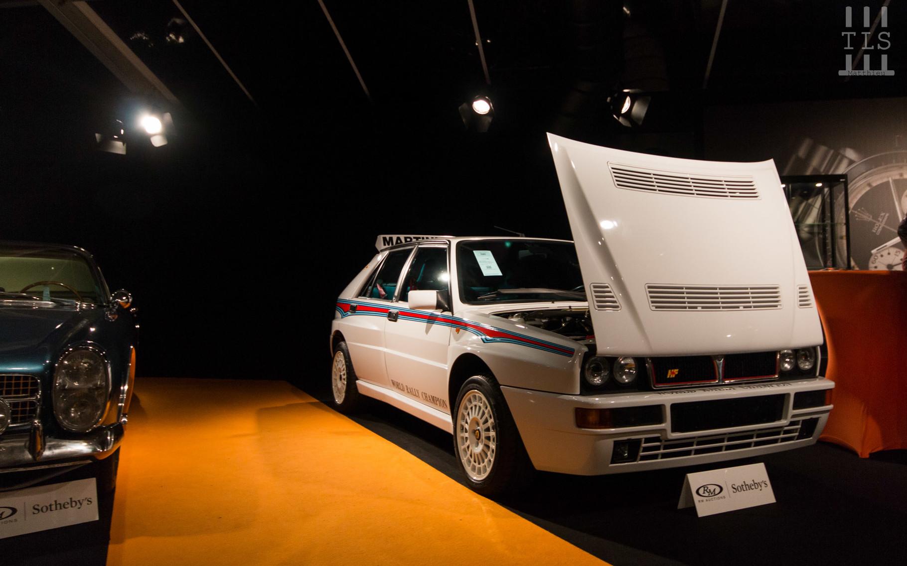 Lancia Delta HF Integrale Evoluzione, vendue à 134 400 euros.