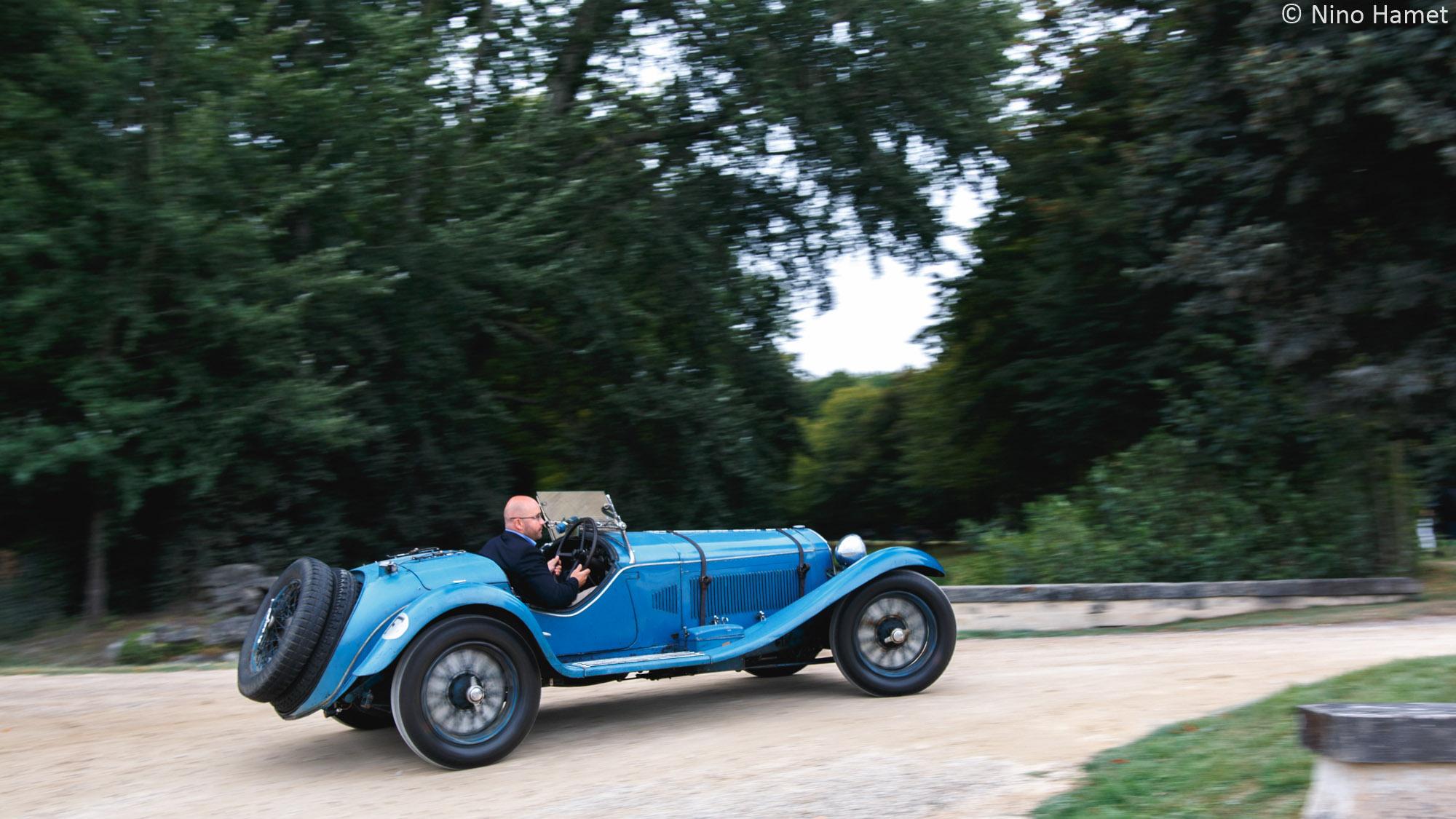 Chefs d'oeuvre de la carrosserie française (Avant-Guerre) - Voitures Ouvertes, premier Prix : Alfa Romeo 8C 2300 Roadster Figoni 1932 (M. Martin Eyears)