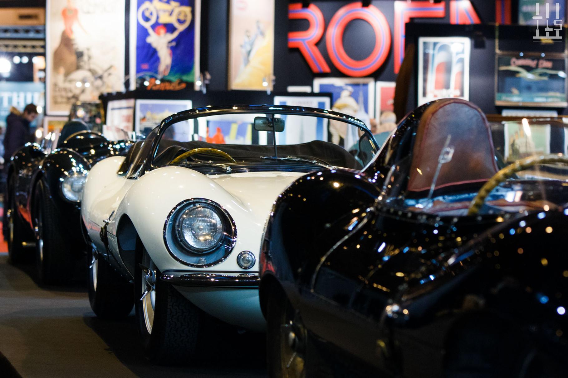 Un autre coup de coeur pour moi dans ce salon, la Jaguar XKSS présente sur la stand de Lukas Hüni, le blanc lui va à merveille !